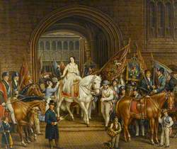 The Lady Godiva Procession of 1829, Coventry