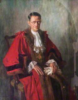 Alderman H. B. W. Cresswell (1925–1964), First Lord Mayor of Coventry (1953)