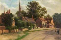 Allesley Village, Warwickshire