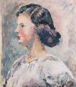Portrait of an Unknown Woman in Profile