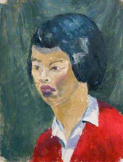 Portrait of an Unknown Young Chinese Woman