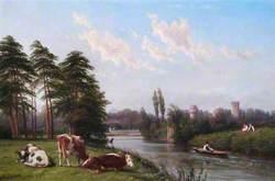 On the Avon at Warwick