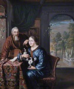 A Dutchman and His Wife