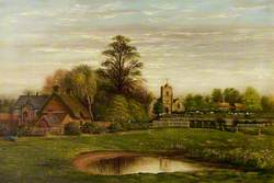 The Infants' School, Chilvers Coton, Warwickshire, from the Canal