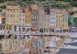 Quayside Scene, St Mandrier, France