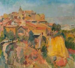 Village in Provence, France