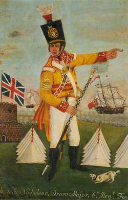 Drum Major Thomas Nicholson (1750–1825)