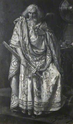 Sir Henry Irving (1838–1905), as King Lear, Lyceum Theatre