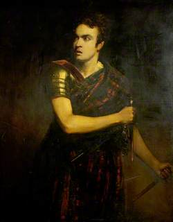 William Charles Macready (1793–1873), as Macbeth