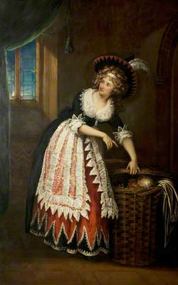 Mary Stephens Wells, née Davies (1762–1829), as Mrs Page