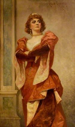 Ada Rehan (1860–1916), as Katharine