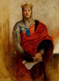 Lewis Waller (1860–1915), as Henry V