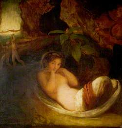 'A Midsummer Night's Dream', Act II, Scene 2, Titania Reposing with Her Indian Votaries