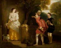 'The Merry Wives of Windsor', Act I, Scene 1, Anne Page Inviting Master Slender to Dinner