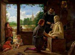 A Sculptor's Workshop, Stratford-upon-Avon, 1617
