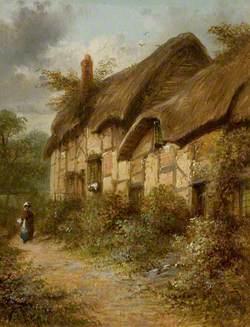 Anne Hathaway's Cottage, Shottery, Stratford-upon-Avon, Warwickshire