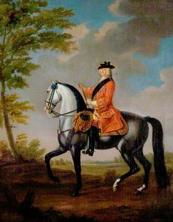 George I (1660–1727), on Horseback