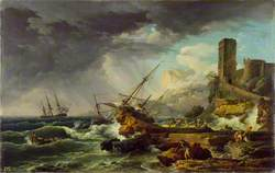 A Storm with a Shipwreck
