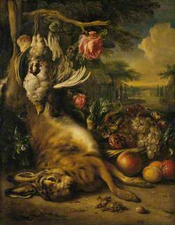 Dead Hare and Still Life