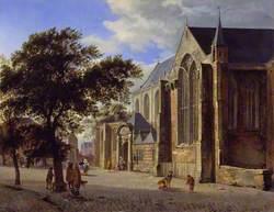 Exterior of a Church
