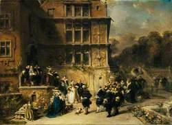 Court Reception at a Château
