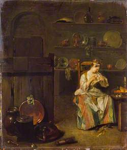 A Girl in a Kitchen