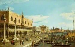 Venice: the Riva degli Schiavoni