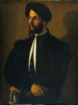 Portrait of a Man in Black