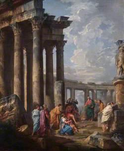 Saint Paul at Malta Grasping the Viper