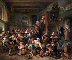 The Egg Dance: Peasants Merrymaking in an Inn