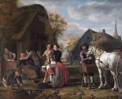 A Village Scene