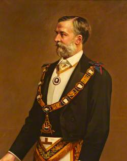 Earl Egerton of Tatton, Pro Grand Master (1887–1890)