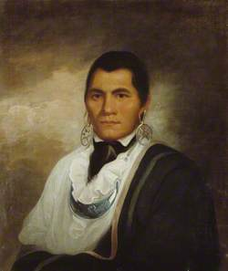 Portrait of a Cherokee Indian