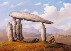 Cromlech near Newport (Chamber Tomb of Pentre Ifan)
