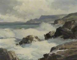 Rough Seas, Antrim Coast, Cushendum