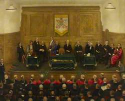 Freedom of the City of Westminster Given to Winston Churchill