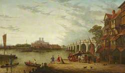 Old Westminster Bridge from Lambeth
