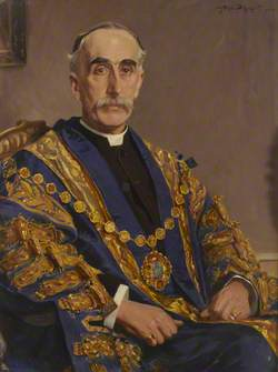 Councillor The Reverend F. Harcout Hillersdon, Mayor of Westminster (1909–1910)