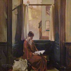 Woman Reading by a Window