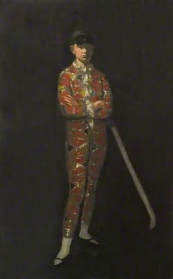 The Artist's Daughter, Nancy, as Pierrot