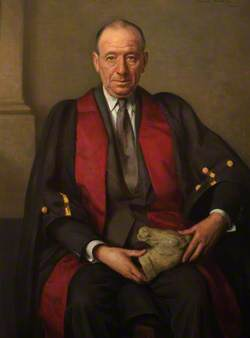 H. W. Dawes, CBE, President (1946–1949), 1st Chair of Disciplinary Committee