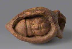Carved Head of Monk Figurine (Eastfield)