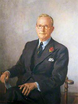 Reginald Edgeley Oldfield, Treasurer of Christ's Hospital (1945–1957)