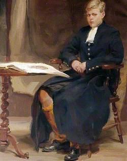 A Christ's Hospital Boy Studying