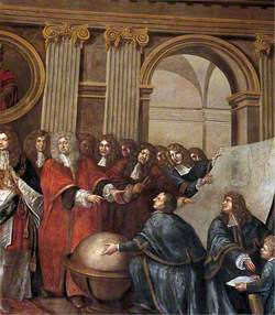 James II Receiving the Mathematical Scholars of Christ's Hospital
