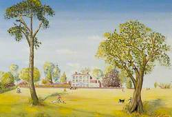 East Court at Springtime