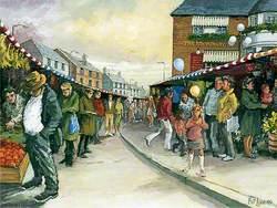 Street Market Railway Approach, East Grinstead, West Sussex