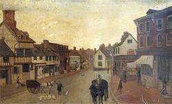 East Grinstead High Street Looking West to Middle Row, West Sussex
