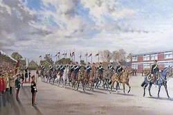 Disbandment Parade