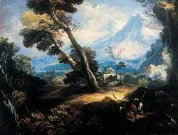 Landscape with Brigands Resting